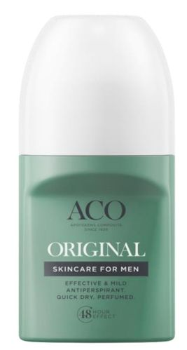 ACO FOR MEN ORIGINAL DEO antiperspirantti 50 ml