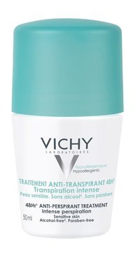 VICHY 48HR ANTI-PERSPIRANT TREATMENT ROLL-ON