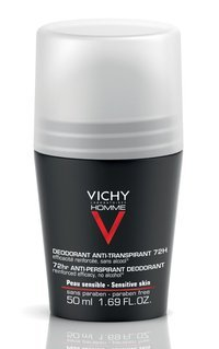 VICHY HOMME ANTI-PERSPIRANT 72H ROLL-ON