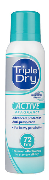 TRIPLE DRY ACTIVE WOMEN SPRAY ANTIPERSPIRANTTI