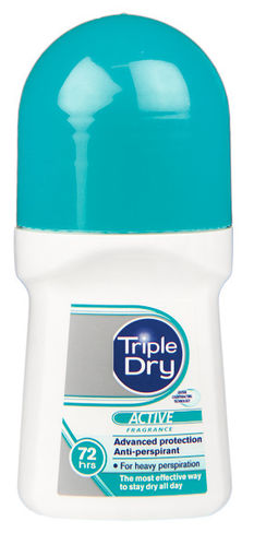 TRIPLE DRY ACTIVE WOMEN ROLL-ON ANTIPERSPIRANTTI