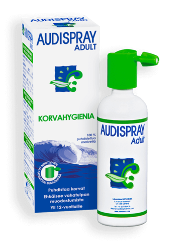 AUDISPRAY ADULT KORVASUIHKE 50 ml