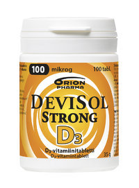 DEVISOL STRONG 100 mikrog