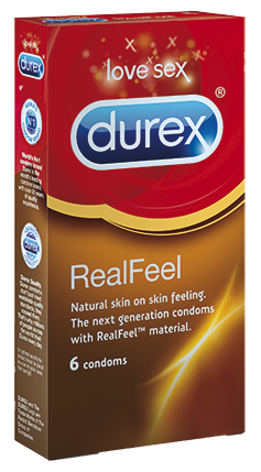 DUREX REAL FEEL KONDOMI 6 kpl