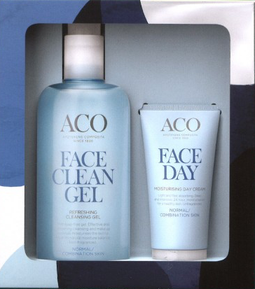 ACO FACE LAHJAPAKKAUS FACE CLEAN GEL JA  MOISTURING DAY CREAM