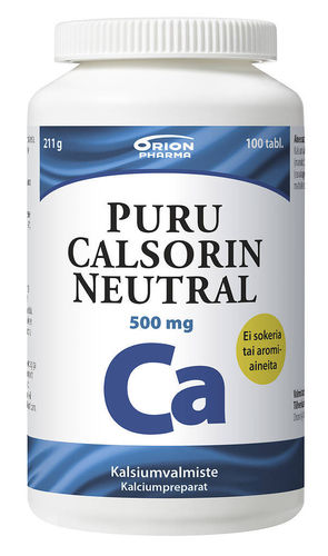 PURU CALSORIN NEUTRAL 500 mg 100 tabl.