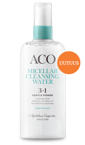ACO Face 3-IN-1 Micellar Cleansing Water