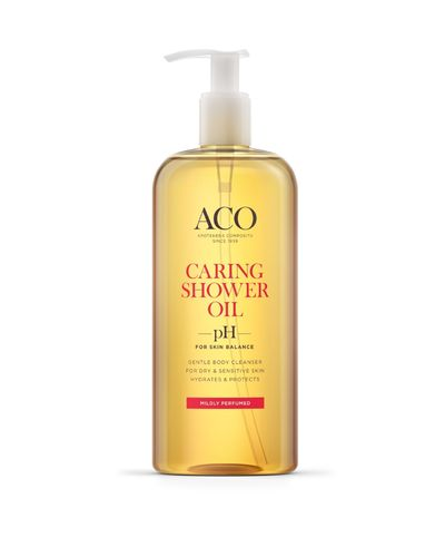 ACO CARING SHOWER OIL hajustettu 400 ml