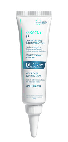 DUCRAY KERACNYL PP ANTI-BLEMISH SOOTHING CREAM hoitovoide 30ml