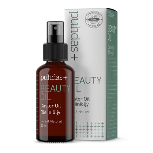 PUHDAS+ BEAUTY OIL Risiiniöljy 50ml
