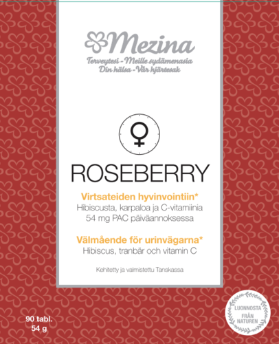 ROSEBERRY virtsateiden itsehoitoo 90 kaps.