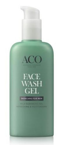 ACO  For Men Face Wash Gel Hajustettu 200ml
